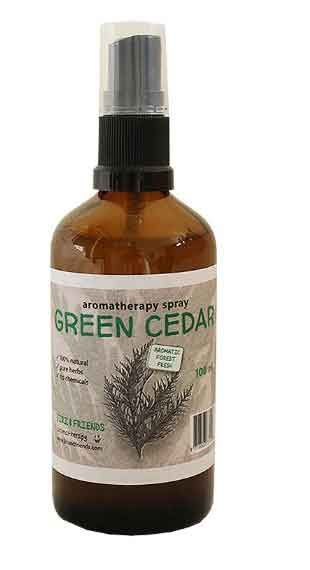 Aromatherapy spray Green Cedar